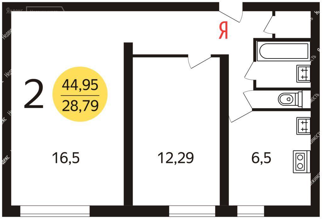 Продажа двухкомнатной квартиры Москва, метро Шипиловская, Шипиловская улица 62/1, цена 11300000 рублей, 2021 год объявление №630666 на megabaz.ru