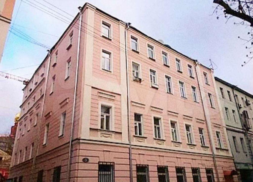 Продажа студии Москва, метро Цветной бульвар, Малый Каретный переулок 5, цена 7950000 рублей, 2021 год объявление №608805 на megabaz.ru