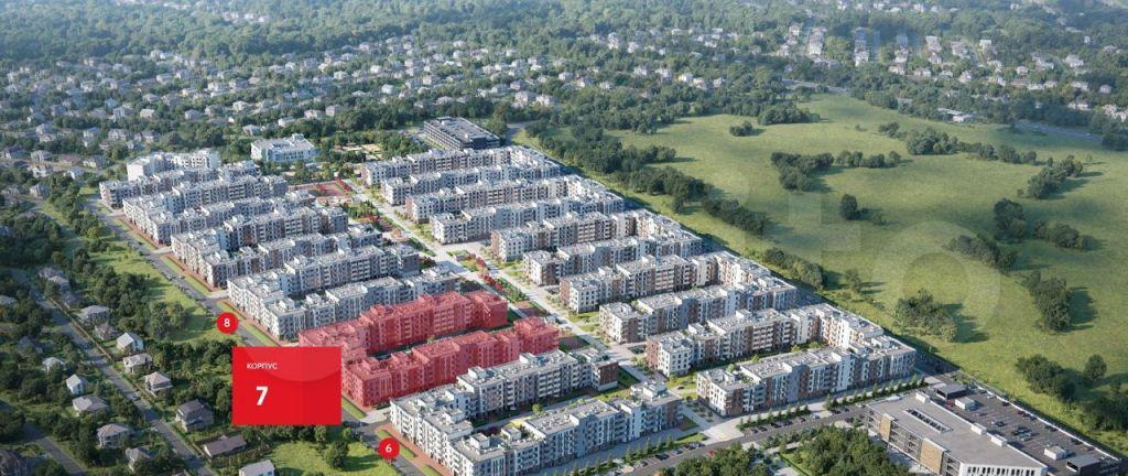 Продажа студии село Перхушково, цена 3380000 рублей, 2021 год объявление №662714 на megabaz.ru