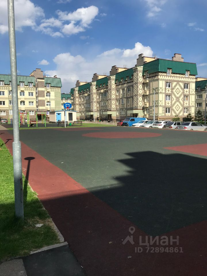 Аренда однокомнатной квартиры деревня Солманово, Лазурная улица 14, цена 25000 рублей, 2021 год объявление №1384613 на megabaz.ru