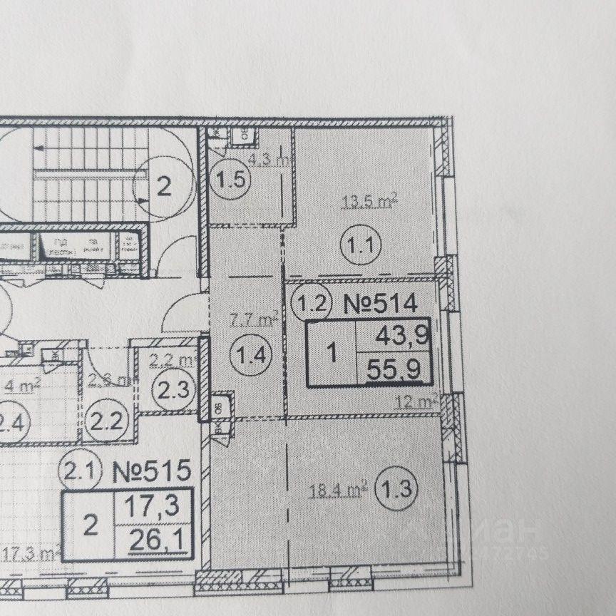 Продажа двухкомнатной квартиры деревня Сапроново, цена 8450000 рублей, 2021 год объявление №614447 на megabaz.ru