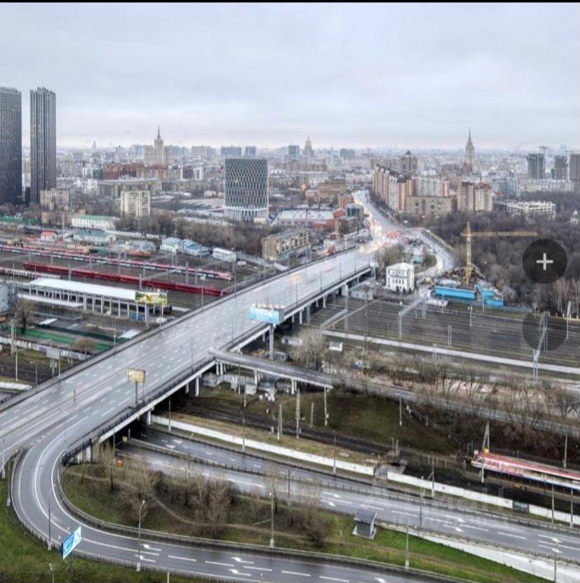 Продажа однокомнатной квартиры Москва, метро Беговая, Хорошёвское шоссе 12к1, цена 16800000 рублей, 2021 год объявление №612807 на megabaz.ru