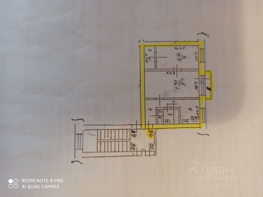 Продажа двухкомнатной квартиры Дубна, улица Карла Маркса 31, цена 3800000 рублей, 2021 год объявление №618078 на megabaz.ru