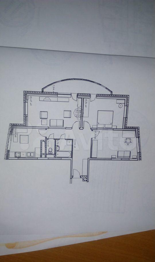 Продажа трёхкомнатной квартиры Лыткарино, Первомайская улица 19к1, цена 9300000 рублей, 2021 год объявление №554844 на megabaz.ru