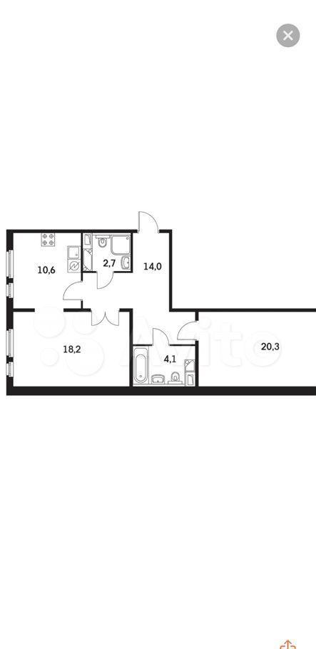 Продажа двухкомнатной квартиры Мытищи, метро Медведково, Юбилейная улица 4, цена 10000000 рублей, 2021 год объявление №618747 на megabaz.ru