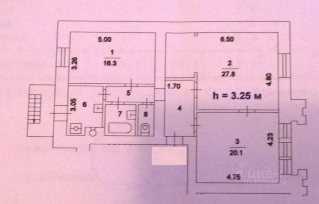 Продажа трёхкомнатной квартиры Москва, метро Смоленская, улица Новый Арбат 30/9, цена 39000000 рублей, 2021 год объявление №611850 на megabaz.ru