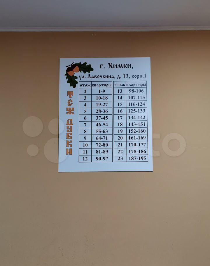Продажа однокомнатной квартиры Химки, метро Планерная, улица Лавочкина 13к1, цена 8800000 рублей, 2021 год объявление №618651 на megabaz.ru