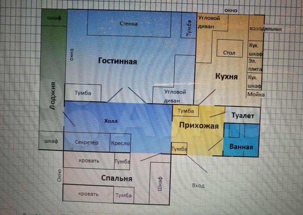Аренда четырёхкомнатной квартиры Москва, метро Профсоюзная, улица Вавилова 81, цена 50000 рублей, 2021 год объявление №1385350 на megabaz.ru