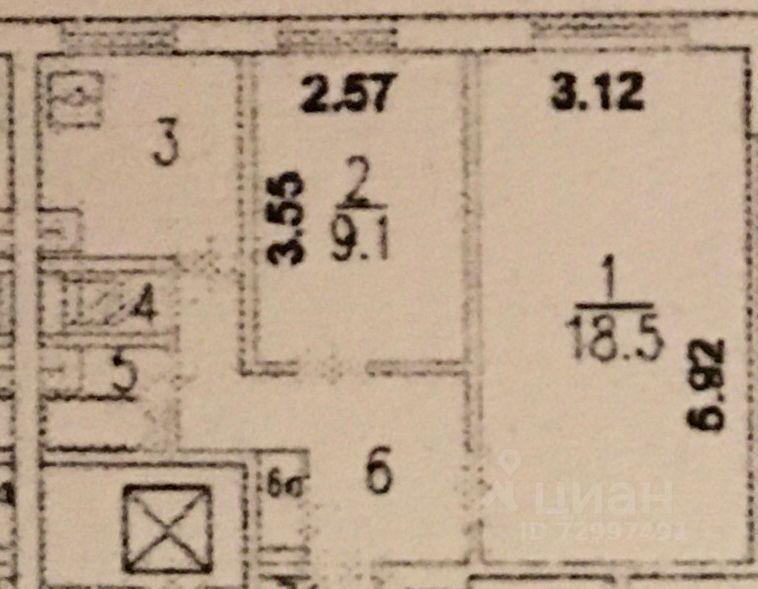 Аренда двухкомнатной квартиры Москва, метро Речной вокзал, Клинская улица 15, цена 35000 рублей, 2021 год объявление №1385415 на megabaz.ru