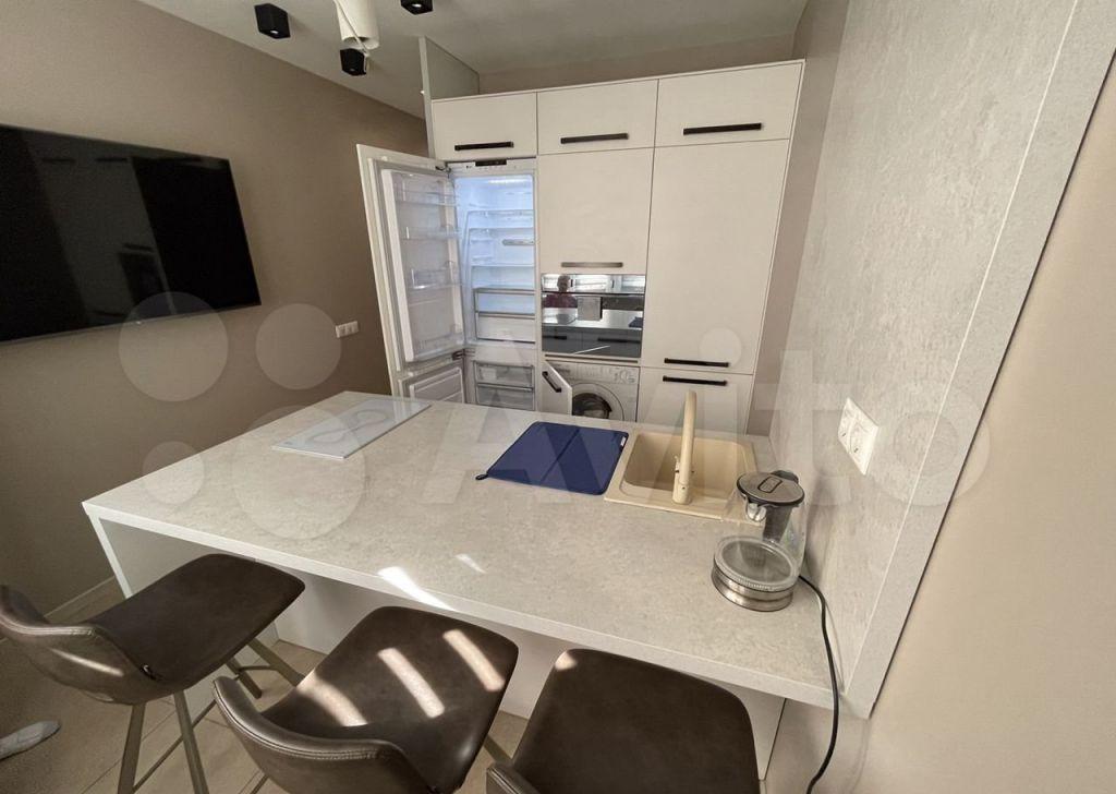 Аренда однокомнатной квартиры деревня Сапроново, цена 33000 рублей, 2021 год объявление №1462178 на megabaz.ru