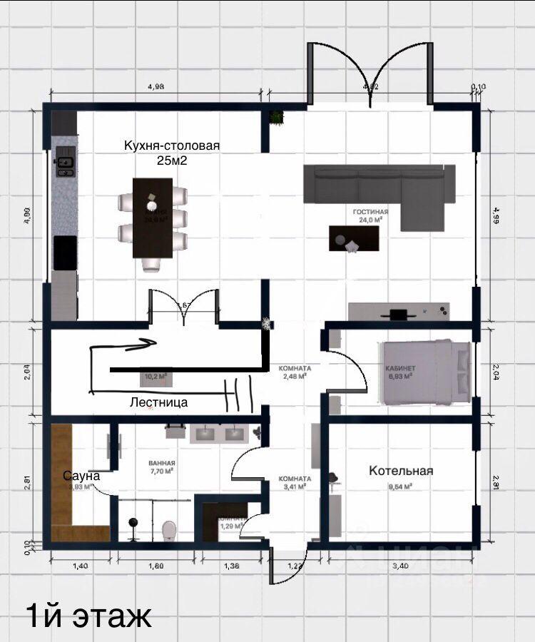 Продажа дома деревня Нефедьево, цена 12950 рублей, 2021 год объявление №620232 на megabaz.ru