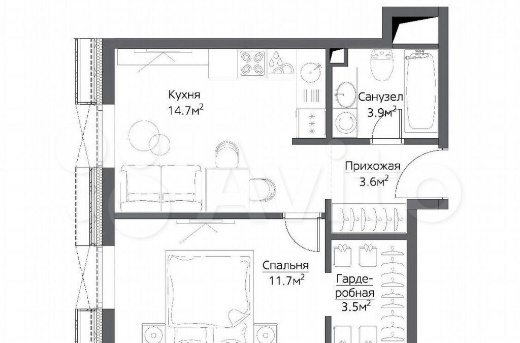 Продажа однокомнатной квартиры Москва, метро Дмитровская, цена 18000000 рублей, 2021 год объявление №620531 на megabaz.ru