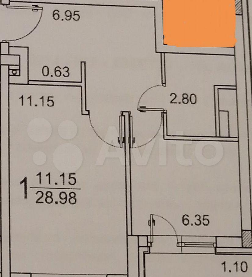 Продажа однокомнатной квартиры деревня Солманово, Триумфальная улица, цена 3300000 рублей, 2021 год объявление №620585 на megabaz.ru
