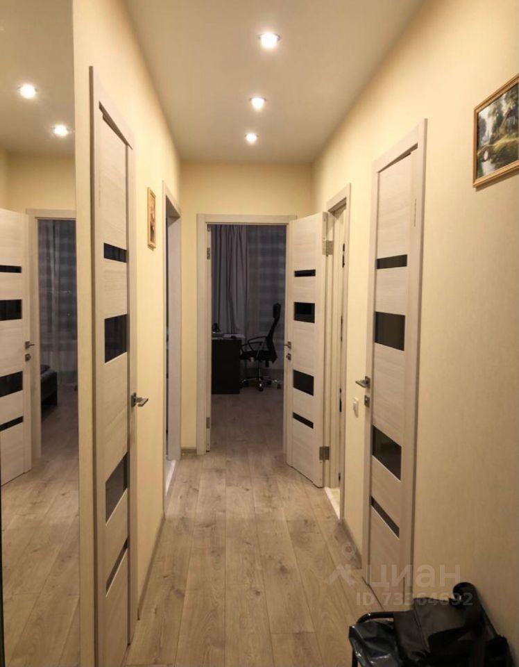 Аренда двухкомнатной квартиры деревня Подолино, Беговая улица 10, цена 30000 рублей, 2021 год объявление №1421381 на megabaz.ru