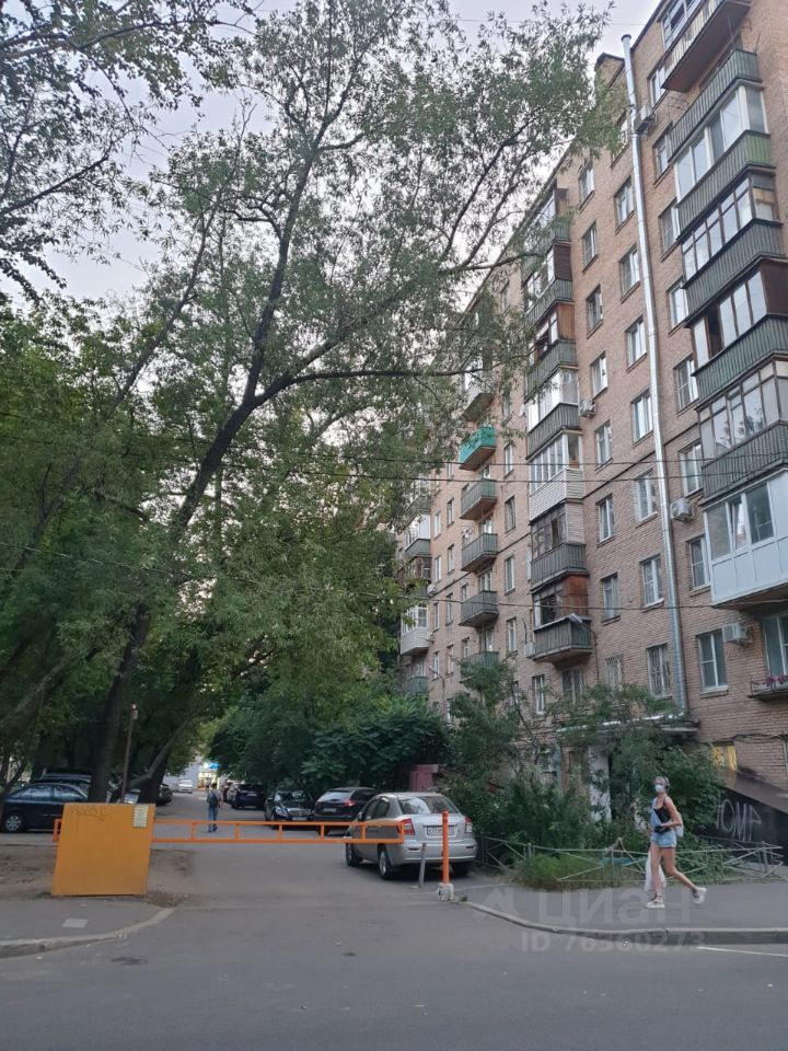 Продажа однокомнатной квартиры Москва, метро Марьина роща, Трифоновская улица 4, цена 7700000 рублей, 2021 год объявление №654254 на megabaz.ru