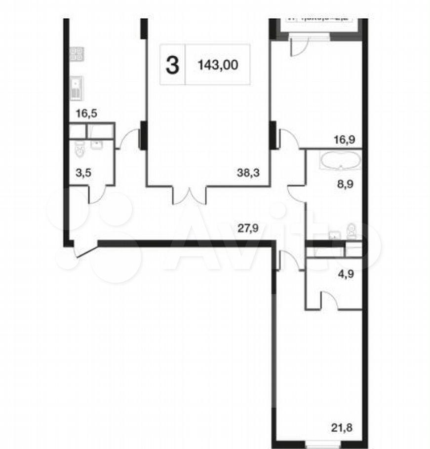 Продажа трёхкомнатной квартиры Москва, метро Тимирязевская, Дмитровское шоссе 13, цена 47100000 рублей, 2021 год объявление №624567 на megabaz.ru