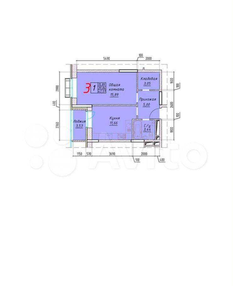 Продажа однокомнатной квартиры Наро-Фоминск, площадь Свободы 2, цена 4900000 рублей, 2021 год объявление №656449 на megabaz.ru