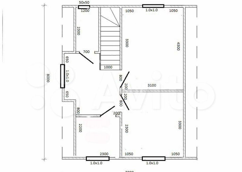 Продажа дома деревня Андреевское, Кооперативная улица, цена 5400000 рублей, 2021 год объявление №611037 на megabaz.ru