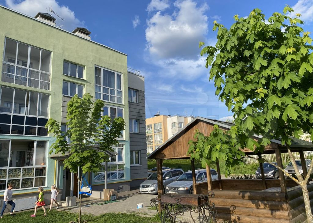Продажа двухкомнатной квартиры деревня Чёрная, Европейская улица 19, цена 7500000 рублей, 2021 год объявление №642020 на megabaz.ru
