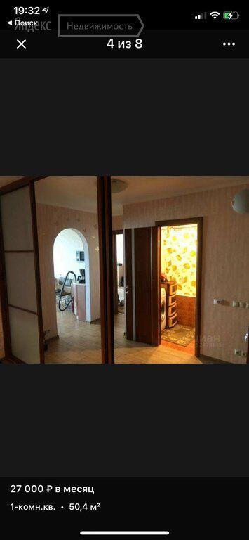 Аренда однокомнатной квартиры поселок ВНИИССОК, Рябиновая улица 7, цена 31000 рублей, 2021 год объявление №1433913 на megabaz.ru