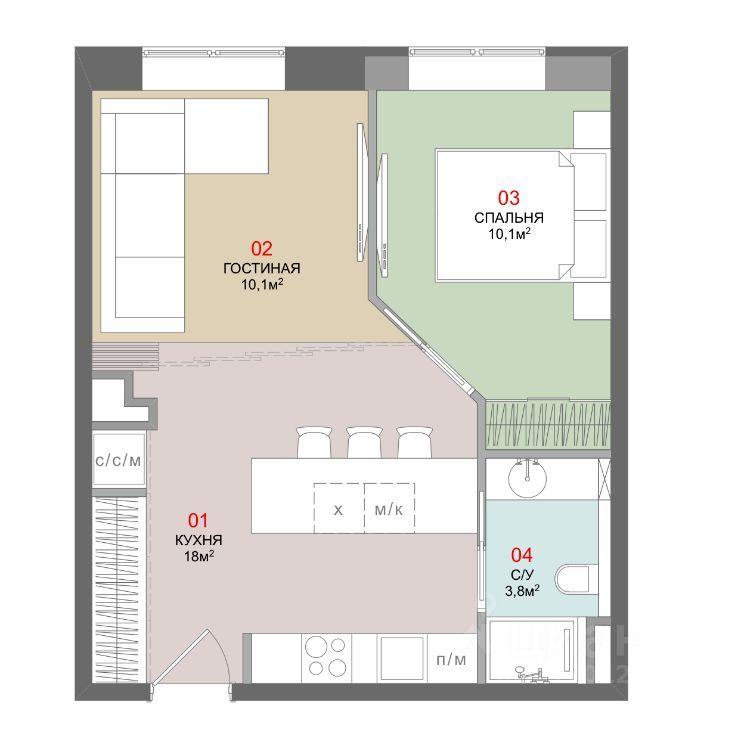 Продажа двухкомнатной квартиры Москва, метро Водный стадион, Кронштадтский бульвар 6к5, цена 14900000 рублей, 2021 год объявление №629292 на megabaz.ru