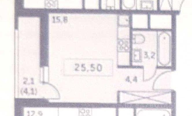 Продажа студии деревня Раздоры, метро Строгино, цена 6200000 рублей, 2021 год объявление №629325 на megabaz.ru