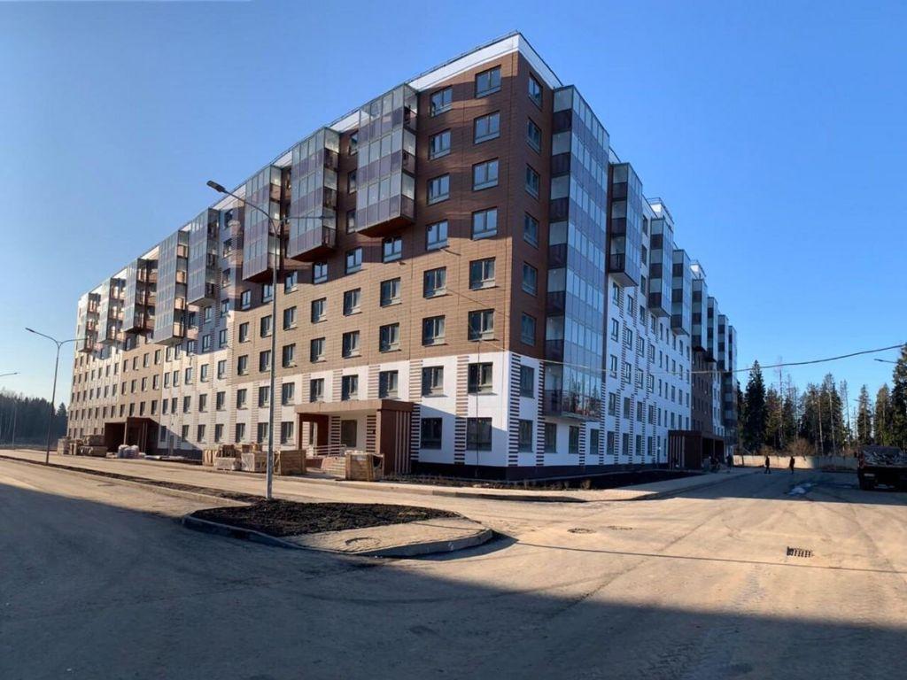Продажа однокомнатной квартиры деревня Елино, цена 3290000 рублей, 2020 год объявление №378372 на megabaz.ru