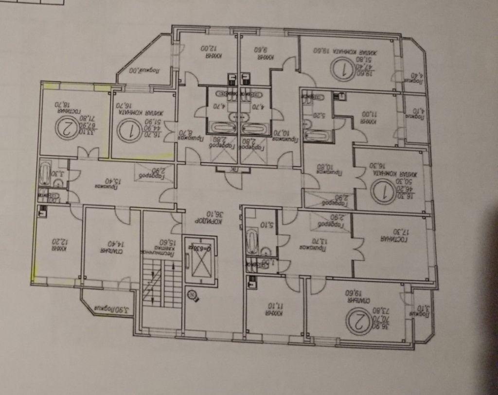 Продажа двухкомнатной квартиры село Рождествено, Рождественский бульвар 5, цена 4000000 рублей, 2021 год объявление №465351 на megabaz.ru