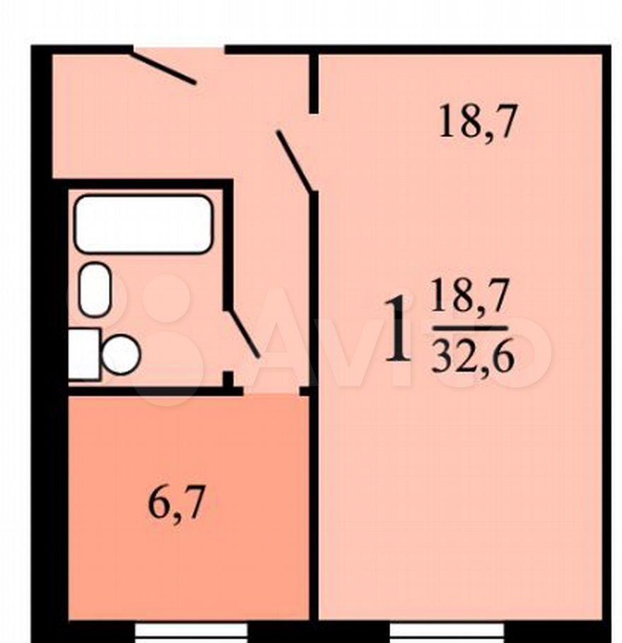 Продажа однокомнатной квартиры Москва, метро Каширская, Пролетарский проспект 2, цена 8700000 рублей, 2021 год объявление №657536 на megabaz.ru
