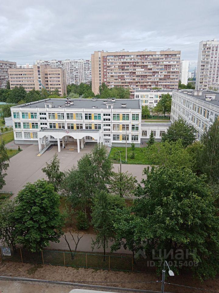 Продажа однокомнатной квартиры Москва, метро Марьино, Батайский проезд 43, цена 9050000 рублей, 2021 год объявление №629896 на megabaz.ru