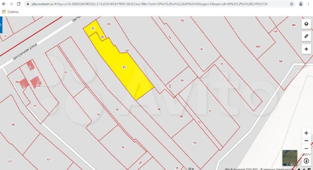 Продажа дома поселок Вешки, Центральная улица 33, цена 7500000 рублей, 2021 год объявление №631175 на megabaz.ru