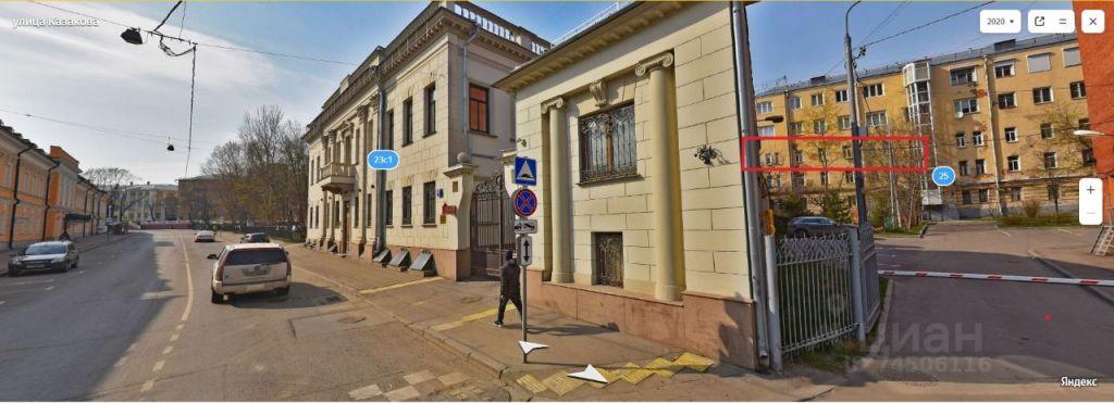 Продажа пятикомнатной квартиры Москва, метро Курская, улица Казакова 25, цена 28000000 рублей, 2021 год объявление №634610 на megabaz.ru