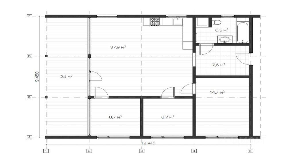 Продажа дома деревня Лопотово, Рябиновая улица, цена 7500000 рублей, 2021 год объявление №626019 на megabaz.ru