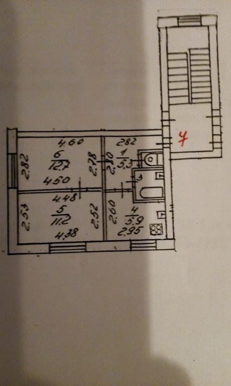 Продажа двухкомнатной квартиры посёлок Пески, Шоссейная улица 17, цена 2200000 рублей, 2021 год объявление №681099 на megabaz.ru