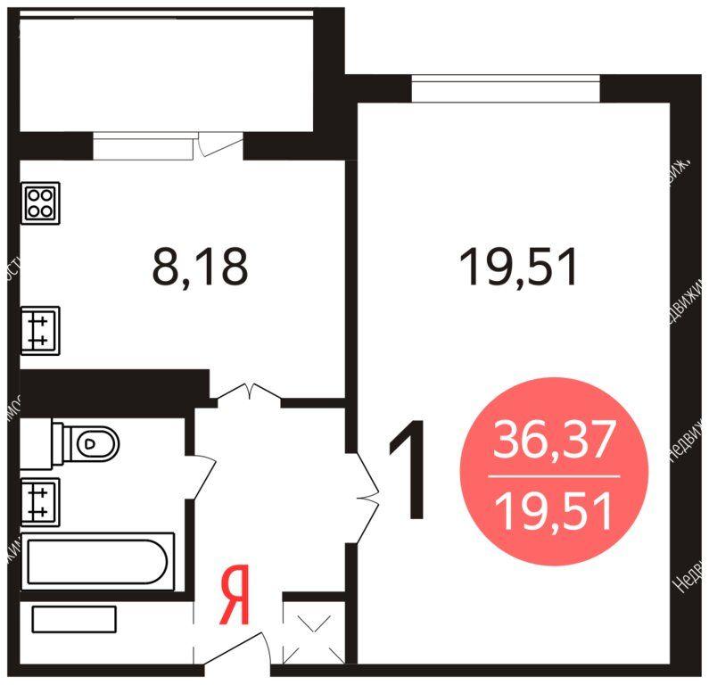 Аренда однокомнатной квартиры Москва, метро Менделеевская, Новосущёвская улица 9, цена 48000 рублей, 2021 год объявление №1402059 на megabaz.ru