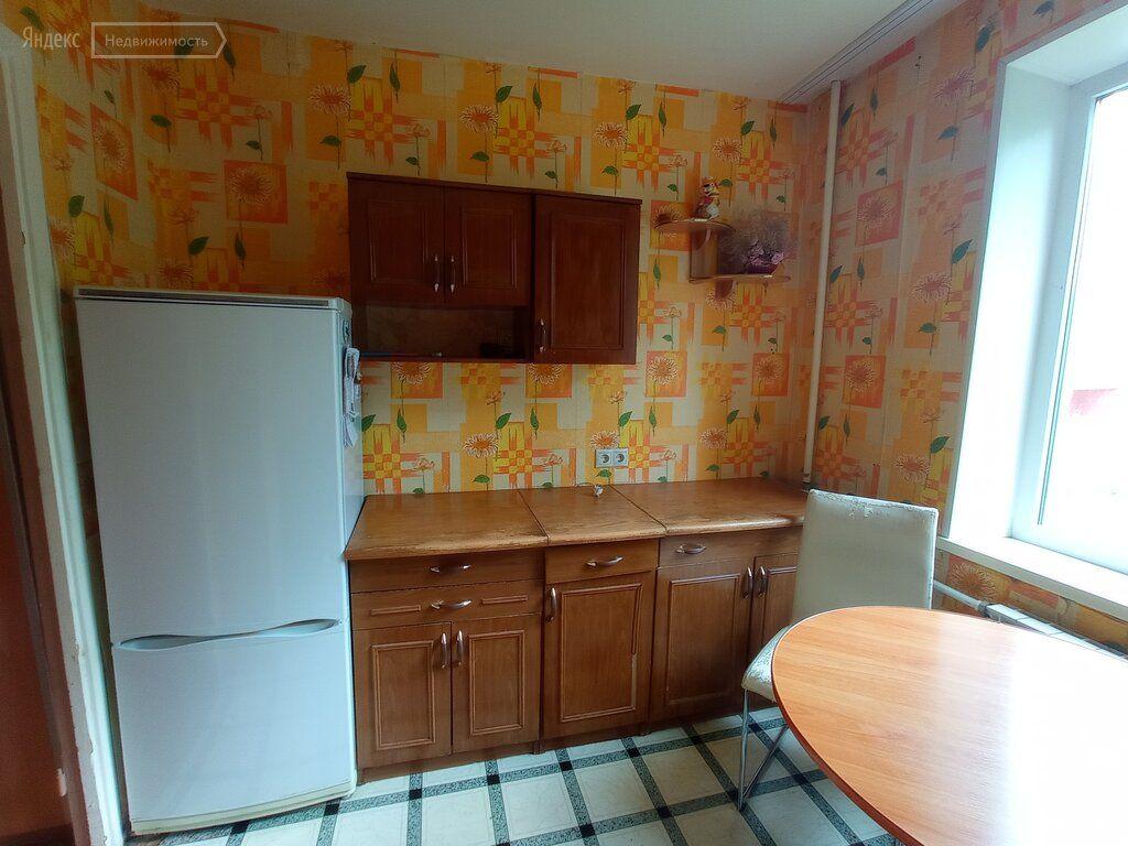 Продажа однокомнатной квартиры Егорьевск, Сосновая улица 14, цена 2000000 рублей, 2021 год объявление №633996 на megabaz.ru
