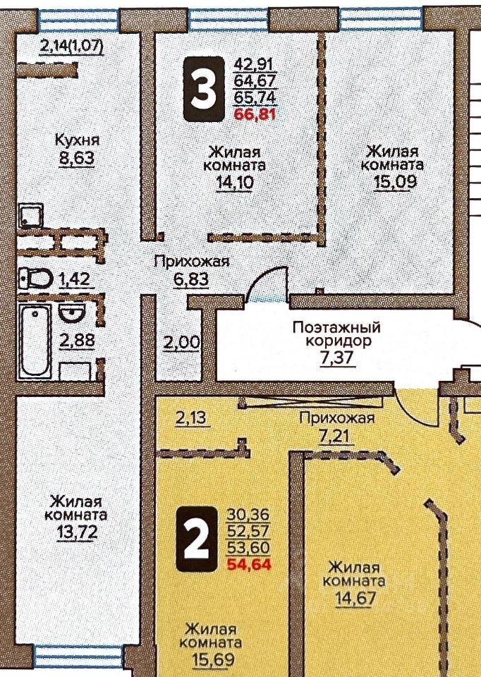 Продажа трёхкомнатной квартиры Москва, метро Бульвар Дмитрия Донского, Сухановская улица 37, цена 8200000 рублей, 2021 год объявление №659761 на megabaz.ru