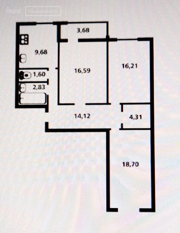 Продажа трёхкомнатной квартиры Дмитров, цена 8600000 рублей, 2021 год объявление №633160 на megabaz.ru