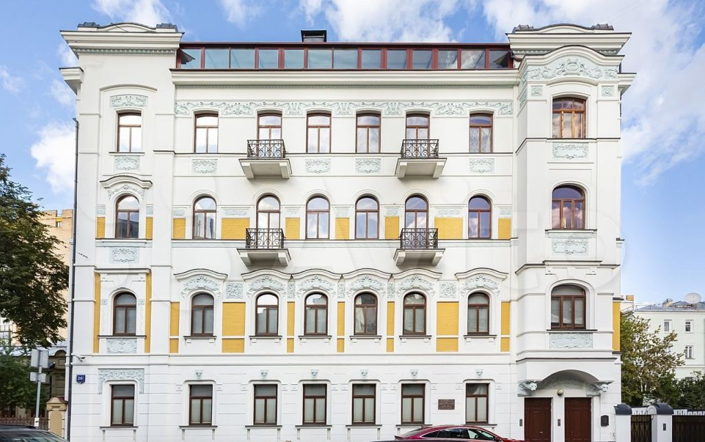 Продажа пятикомнатной квартиры Москва, метро Баррикадная, Хлебный переулок 26, цена 320000000 рублей, 2021 год объявление №636849 на megabaz.ru