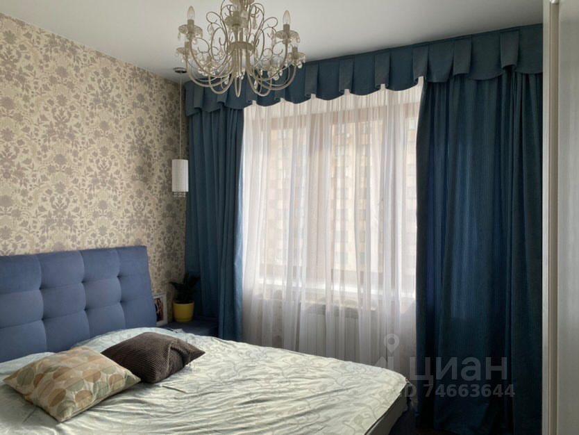 Продажа двухкомнатной квартиры поселок ВНИИССОК, Бородинская улица 3, цена 7700000 рублей, 2021 год объявление №636007 на megabaz.ru