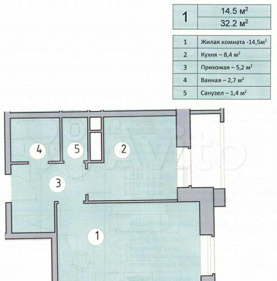 Продажа однокомнатной квартиры Красногорск, улица Пришвина 19, цена 5300000 рублей, 2021 год объявление №638305 на megabaz.ru