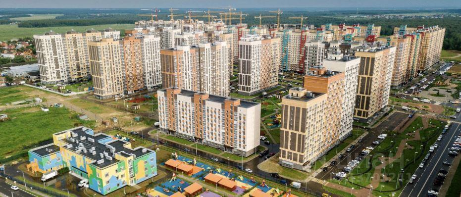 Продажа однокомнатной квартиры деревня Мисайлово, метро Домодедовская, цена 5700000 рублей, 2021 год объявление №636647 на megabaz.ru