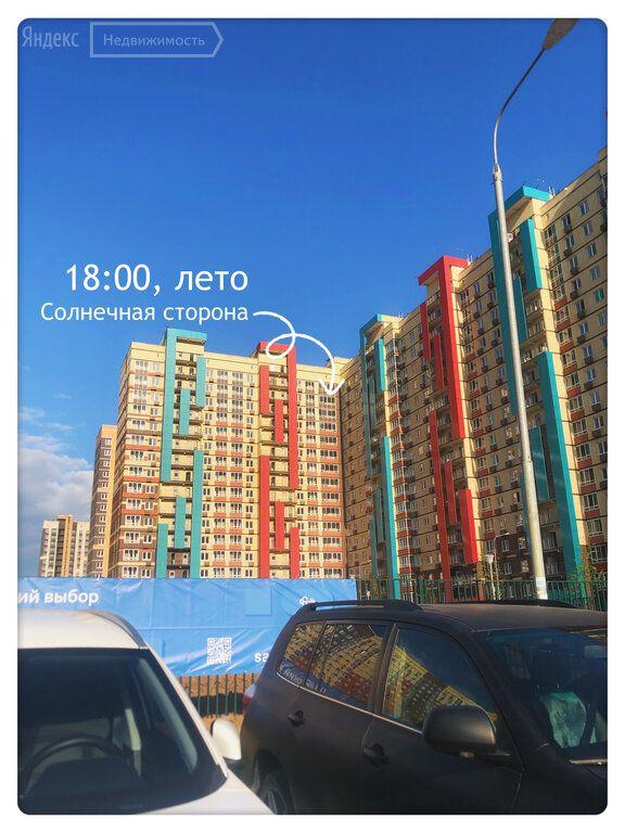 Продажа однокомнатной квартиры деревня Мисайлово, метро Домодедовская, Пригородное шоссе 5, цена 6500000 рублей, 2021 год объявление №666354 на megabaz.ru