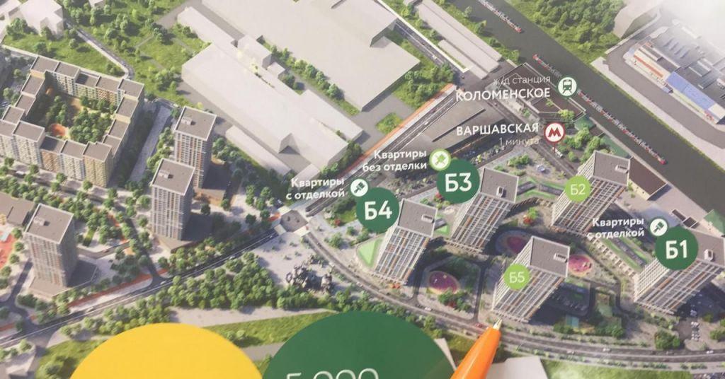 Продажа однокомнатной квартиры Москва, метро Варшавская, цена 10200000 рублей, 2021 год объявление №450886 на megabaz.ru