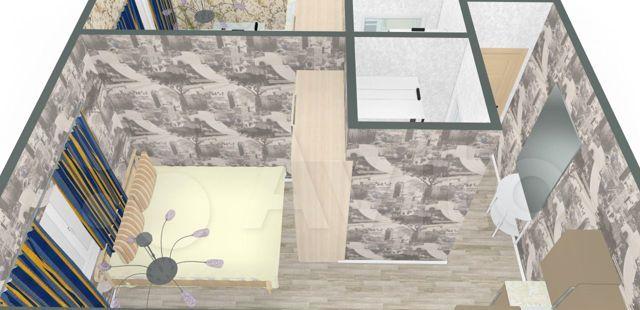 Продажа студии Москва, метро Каширская, Пролетарский проспект 6к2, цена 4800000 рублей, 2021 год объявление №539150 на megabaz.ru