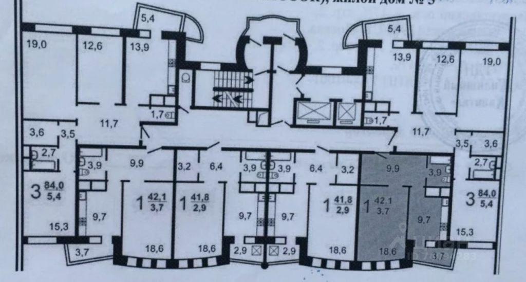 Продажа однокомнатной квартиры поселок ВНИИССОК, метро Фили, улица Дениса Давыдова 11, цена 6050000 рублей, 2021 год объявление №635779 на megabaz.ru