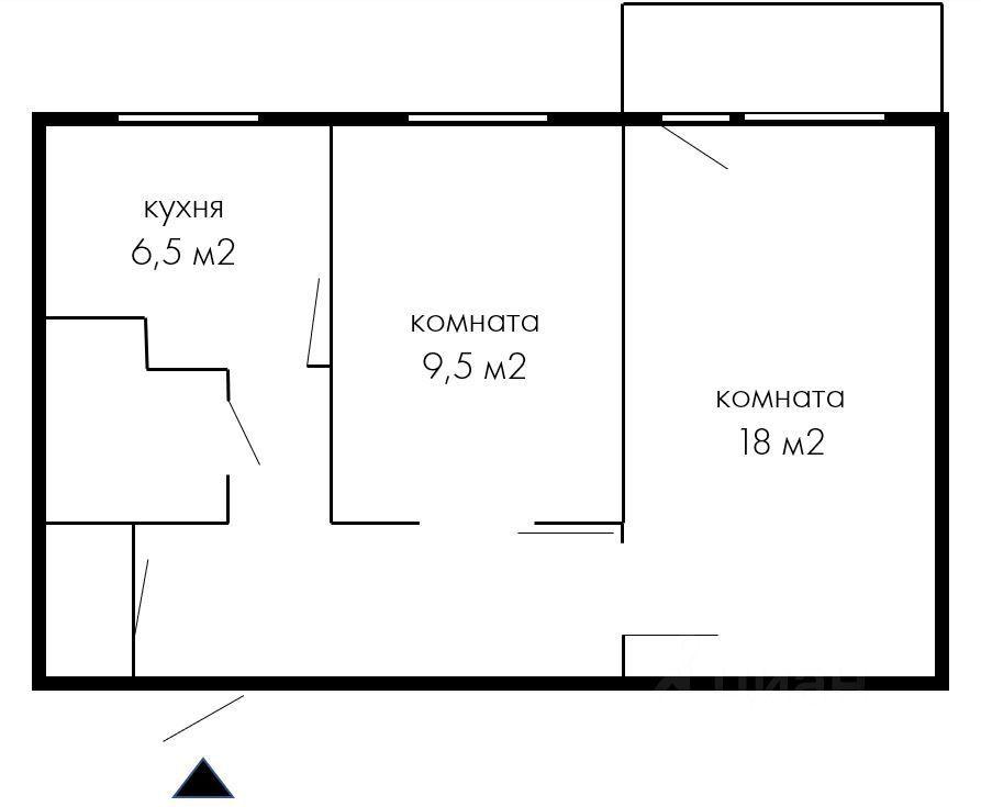 Продажа двухкомнатной квартиры Реутов, метро Новогиреево, улица имени Головашкина 12, цена 7750000 рублей, 2021 год объявление №638034 на megabaz.ru