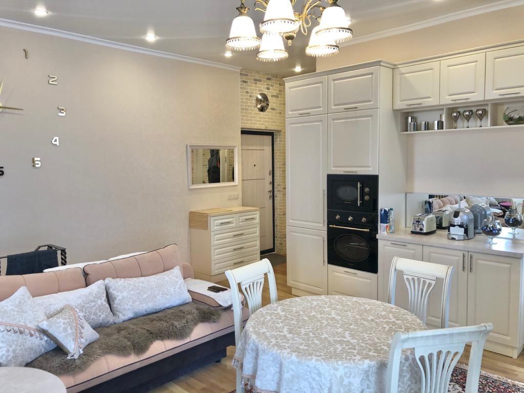 Продажа двухкомнатной квартиры деревня Аристово, Светлая улица 15, цена 7600000 рублей, 2021 год объявление №635485 на megabaz.ru