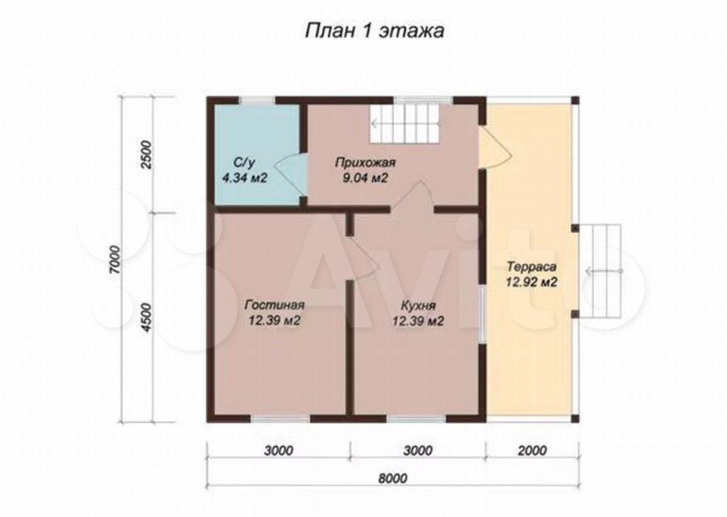Продажа дома деревня Верейка, цена 1300000 рублей, 2021 год объявление №580320 на megabaz.ru