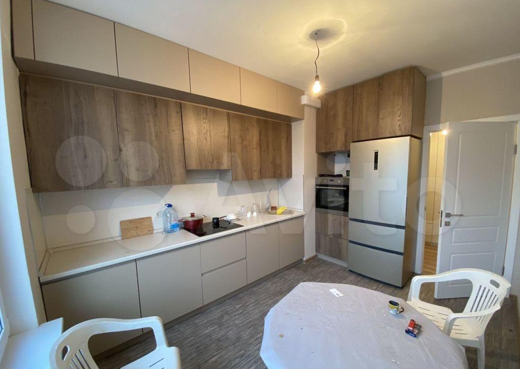 Аренда двухкомнатной квартиры деревня Сапроново, цена 29000 рублей, 2021 год объявление №1408082 на megabaz.ru